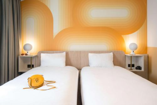 Chambre lits simple- Ibis Styles Pertuis